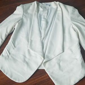Katherine Barclay Montreal White Blazer size US L
